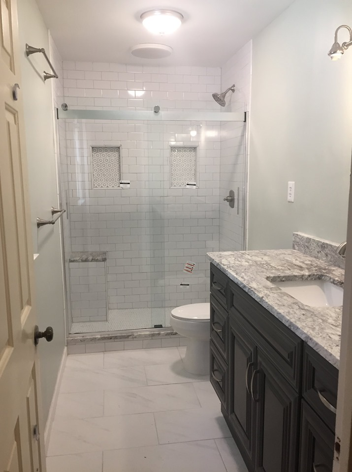 This shower goes out to all the tall people out there! You don't have to settle for a mediocre shower.
